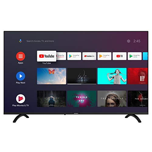 SKYWORTH E20300 40' INCH 1080P LED A53 Quad-CORE Android TV Smart 40E20300 with Voice Remote with Google Assistant, 1mm Thin Bezel, and Android Operating System