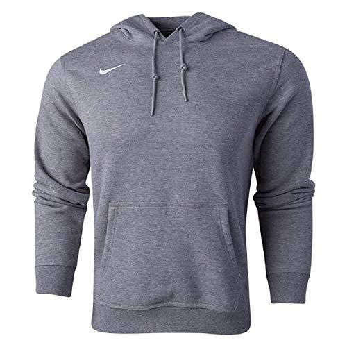 Nike Men's Sportswear Pullover Fleece Club Hoodie Heather Grey Medium