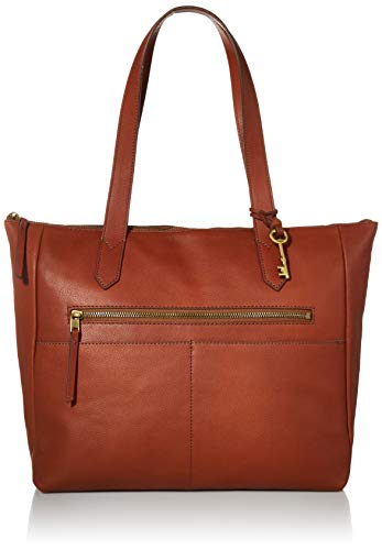 Fossil Fiona Tote Brown One Size