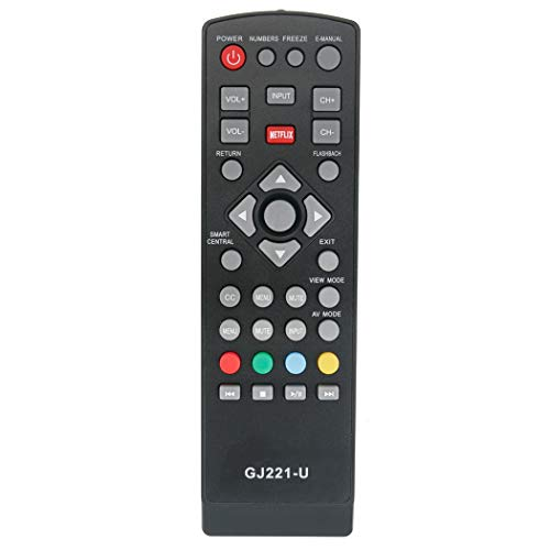 GJ221-U Replacement Remote Control Applicable for Sharp LCD Aquos 4K TV LC-43UB30U LC-50UB30U LC-55UB30U LC-65UB30U LC43UB30U LC50UB30U LC55UB30U LC65UB30U