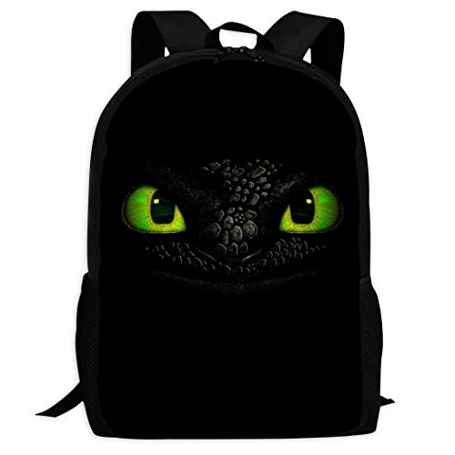 How to Tr-ain Your Dra-gon Kids Toddler Backpacks Cute Bookbag Durable School Bags for Boys and Girls