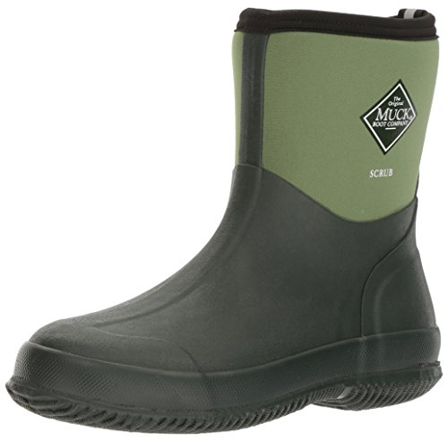 Muck Boot The Original MuckBoots Adult Scrub Boot,Garden Green,8 M US Mens/9 M US Womens
