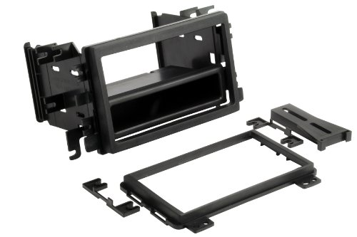 SCOSCHE FD3090B Double DIN Pocket Stereo Dash Kit for 1995-2014 Ford / Mercury / Lincoln / Mazda