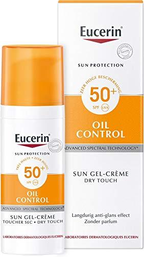 EUCERIN Sun Dry Touch Oil Control Face SPF50+ 50ml!New!