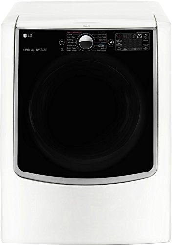 LG DLGX9001WTurboSteam 9.0 Cu. Ft. White With Steam Cycle Gas Dryer - Energy Star