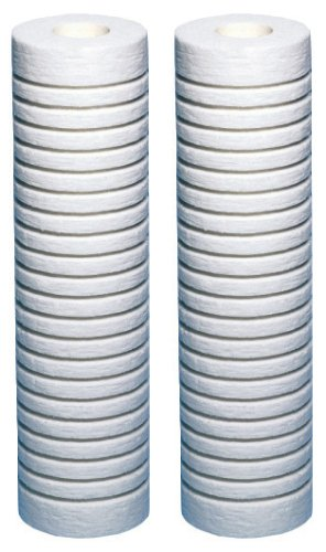AquaPure-AP124-2PK Universal Whole House Filter Replacement Cartridge for Heavy/Coarse Sediment( Pack of 2)