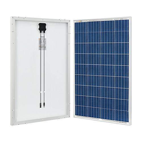 RICH SOLAR 100 Watt 12 Volt Polycrystalline Solar Panel High Efficiency Solar Module Charge Battery for RV Trailer Camper Marine Off Grid
