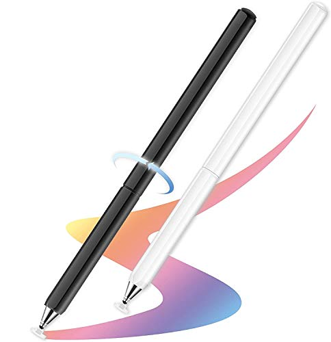 Stylus Pens, Universal High Sensitive & Precision Capacitive Disc Tip Touch Screen Pen Stylus for iPhone/iPad/Pro/Samsung/Galaxy/Tablet/Kindle/Computer/FireTablet