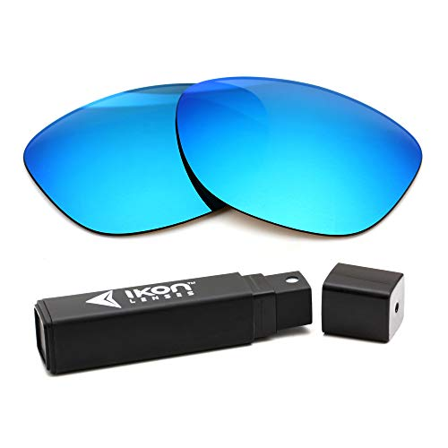 IKON LENSES Polarized Replacement Lenses Compatible with Ray Ban RB4147 (60MM) Sunglasses - Ice Blue Mirror