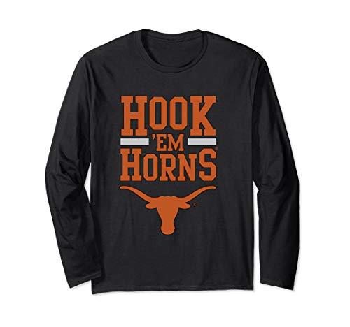 Texas Longhorns Hook 'em Horns - Apparel Long Sleeve T-Shirt