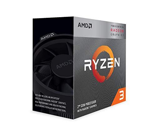 AMD Ryzen 3 3200G 4-Core Unlocked Desktop Processor with Radeon Graphics