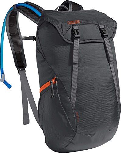 CamelBak Arete 18 Hiking Hydration Backpack - 50 oz, Charcoal/Koi