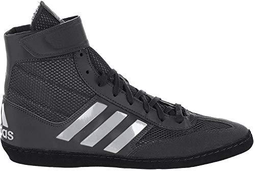 adidas Men's Combat Speed.5, Black/Silver Metallic/Black, 11.5 M US