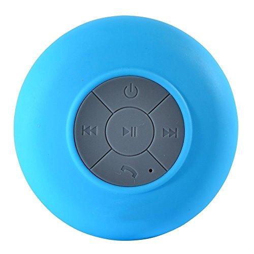 Bluetooth Speaker, Gaosa Bluetooth Wireless Waterproof Shower Speaker with 5W Speaker Mic, Hands-free Calling Function for Shower, Outdoor Activities