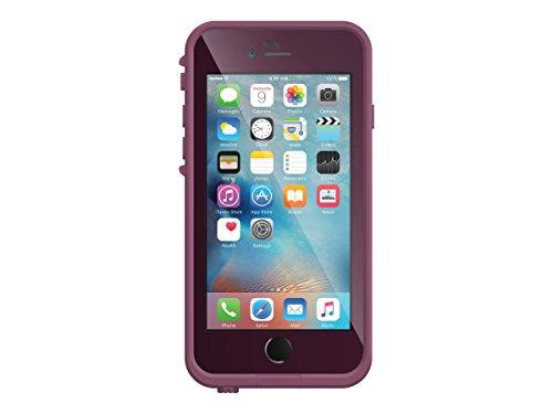 Lifeproof FRĒ SERIES iPhone 6 Plus/6s Plus Waterproof Case (5.5' Version) - Retail Packaging - CRUSHED (STOMP PURPLE/PADDLE PURPLE/SKY FLY BLUE)