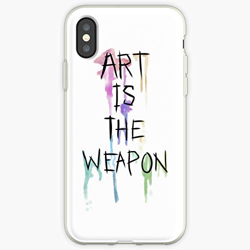 Weapon Art is The Weapon Watercolor Danger Days Inspiration Gerard Way Killjoys My Chemical Romance Phone Case for All iPhone, iPhone 11, iPhone XR, iPhone 7 Plus/8 Plus, Huawei, Samsung Galaxy