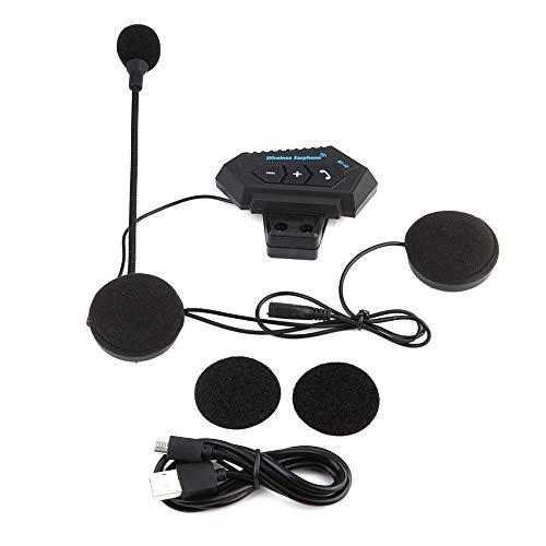SANON Motorcycle bluetooth headset 1 Pair Motorcycle Helmet BT Headset Headphone Speakers Support Hands-free Calling