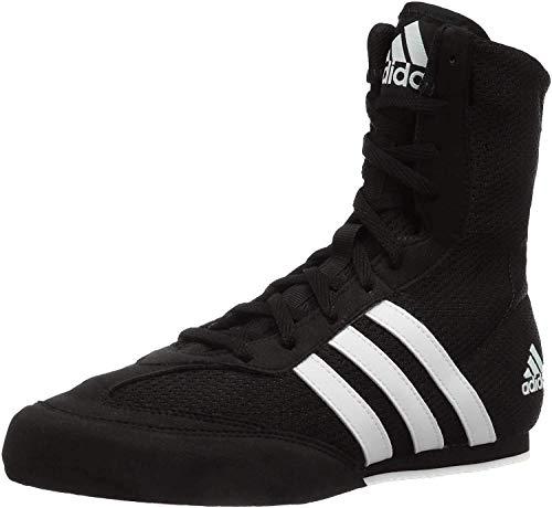adidas Men's Boxing Box Hog 2 Shoes (7.5 M US, Core Black/Cloud White/Core Black)
