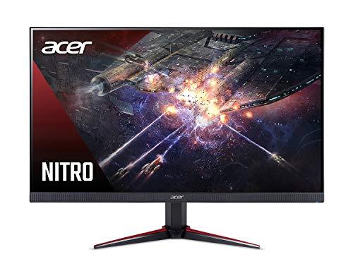 Acer Nitro VG240Y Pbiip 23.8 Inches Full HD (1920 x 1080) IPS Gaming Monitor with AMD Radeon FreeSync Technology, Zero Frame, 144Hz, 1ms VRB, (2 x HDMI 2.0 Ports & 1 x Display Port), Black
