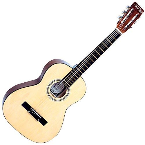 Santa Rosa 6 K119 36' Standard Sized Folk Steel String Guitar-Natural Finish, Right Handed
