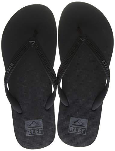 Reef Men's Flip-Flop, Black, 11