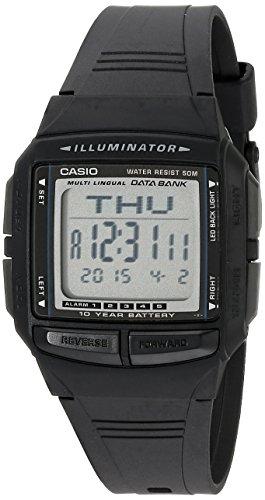 Casio Men's DB36-1AV Multilingual Databank Watch