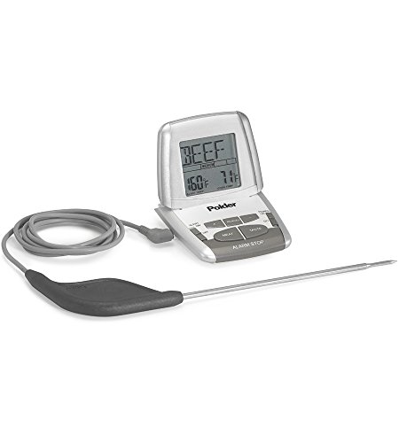 Polder Deluxe Preset In-Oven Thermometer with Ultra Probe THM 308 90