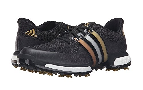 adidas Golf Men's TOUR360 Prime Boost, FTWR White/Core Black/Green S, 15 M US