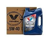 Valvoline Premium Blue Extreme SAE 5W-40 Full Synthetic Engine Oil 1 GA, Case of 3