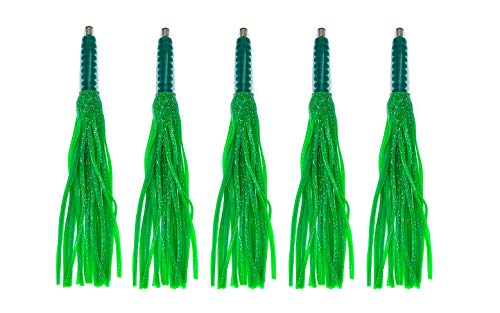 12' Green Machine Lures - Unrigged - 5 Pieces