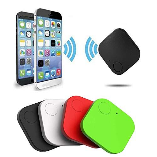 YASHB Key Finder,4 Pack Bluetooth Smart Tracker, Locator Item Finder for Phone, Key, Item, Pets, Children Locating, Multicolor