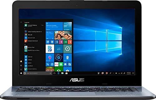 Latest_Asus 14.0' HD Widescreen LED Display High Performance Laptop, A6-Series Processor, 4GB DDR4 RAM, 500GB HDD, Webcam, Wireless+Bluetooth, HDMI, Window 10