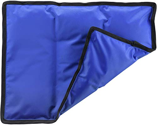 Rester's Choice Ice Pack for Injuries | 11' x 14.5' - Pack of 1 | Hot & Cold Pack | Reusable Gel Pack, Durable Construction, Flexible When Frozen