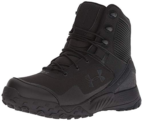 Under Armour Women's Valsetz RTS 1.5 Military and Tactical Boot, Black (001)/Black, 9.5