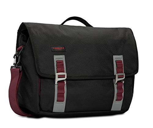 TIMBUK2 Command Messenger Bag, Black/Red Devil, Medium
