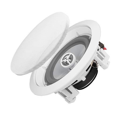OSD Weatherproof in-Ceiling Audio Speaker Pair - Indoor/Outdoor Stereo - ICE800WRS