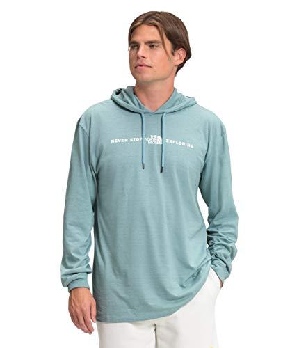 The North Face Men's Tri-Blend Pullover, Tourmaline Blue, L