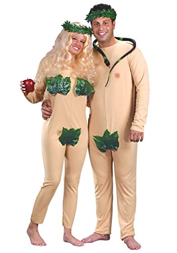 Adam and Eve Costume X-Large Tan