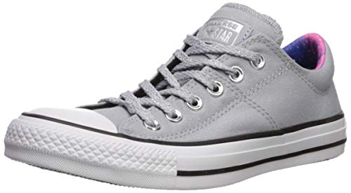 Converse Women's Chuck Taylor All Star Madison Final Frontier Sneaker, Wolf Grey/White/Black, 8 M US