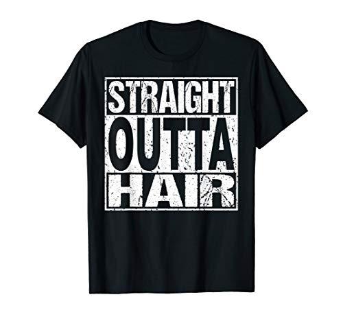 Mens Bald Guy T Shirt Hair Loss Baldness Funny Joke Gift