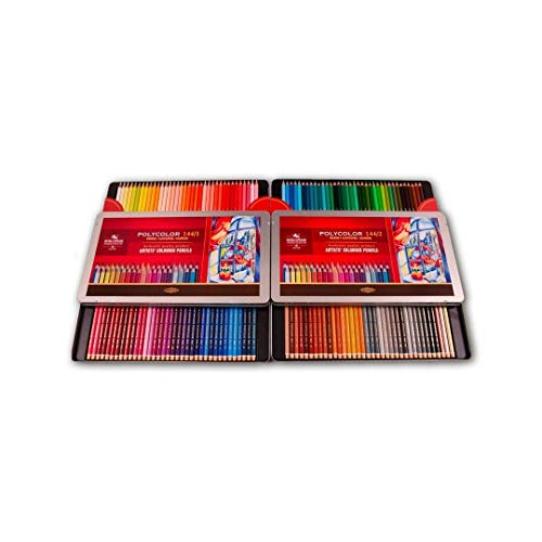 KOHINOOR set of artists´ coloured pencils 3828 144