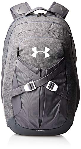 Under Armour Recruit Backpack 2.0, Graphite Medium Heat (040)/White, One Size Fits All
