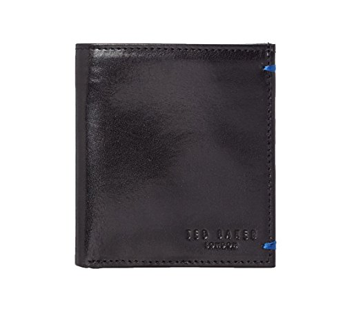 Ted Baker Warholl Small Printed Bifold Wallet (Black)