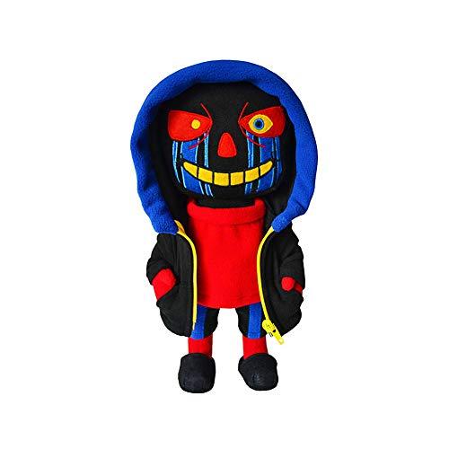 Plush Stuffed Toy AUndertale Errortale Sans Papyrus Doll Toys Pillow Figure Children Gift (Errortale Sans)