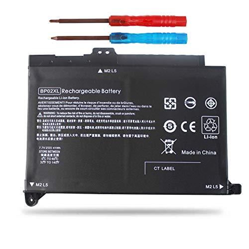 Vinpera BP02XL Laptop Battery for HP Pavilion PC 15 Series 15-AU010WM 15-AU123CL 15-AW002LA 15-aw004 15-AW053NR fit BP02041XL 849569-421 849909-850 849909-855 HSTNN-LB7H -[Three Months Refund]