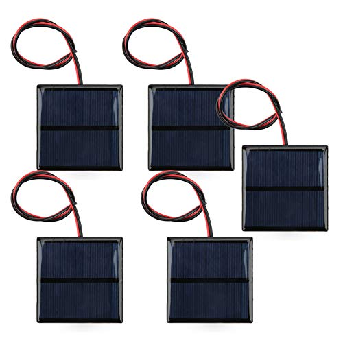 Solar Cell Board, Easy Installation Practical Guaranteed Quality Mini Solar Panel, Mobile Phone Chargers for Lawn Lights Landscape Lights DIY Requirements