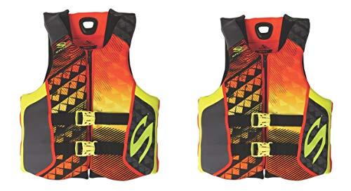Stearns Hydroprene Life Vest 2 Pack Orange, Small