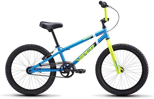 Diamondback Bicycles Jr Viper 20' Wheel Youth BMX Bike, Cyan/Yellow