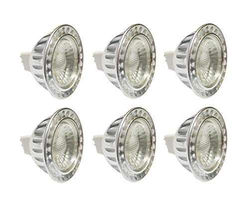 (Pack of 6, Warm White) Sunthin 5w Mr16 Led Bulbs, 50w Equivalent, Recessed Lighting, MR16 LED, LED Spotlight, 360lm, 45