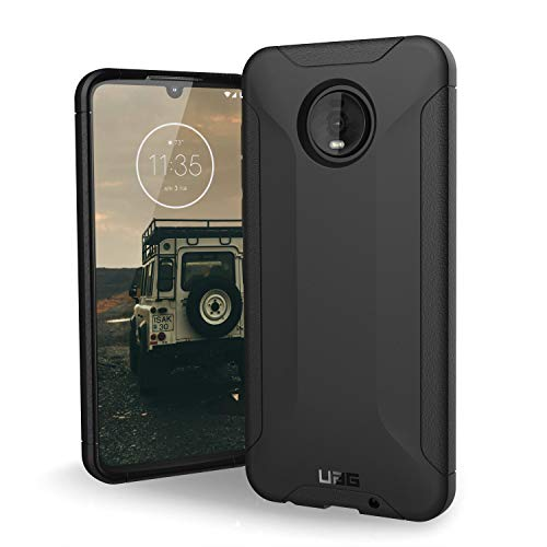 URBAN ARMOR GEAR UAG Made for Moto Z4 Scout Feather-Light Rugged [Black] Military Drop Tested Phone Case